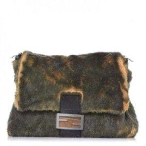 Fendi Iconic Mink Fur Mamma Baguette